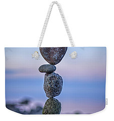 Balanced Heart Weekender Tote Bag