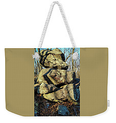 Weekender Tote Bag featuring the photograph Balanced Rocks by Bruce Carpenter