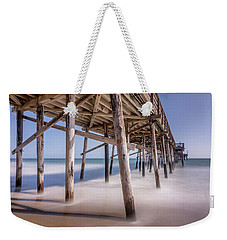 Balboa Pier Weekender Tote Bag by Jeremy Farnsworth