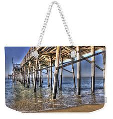 Balboa Pier Pylons Weekender Tote Bag