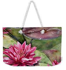 Balboa Water Lilies Weekender Tote Bag