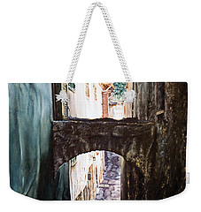 Balcony On The Arch Weekender Tote Bag