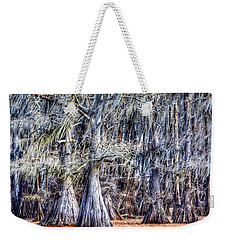 Weekender Tote Bag featuring the photograph Bald Cypress In Caddo Lake by Sumoflam Photography