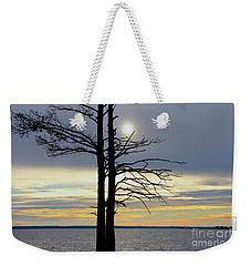 Bald Cypress Silhouette Weekender Tote Bag