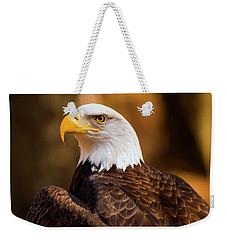 Bald Eagle 2 Weekender Tote Bag by Chris Flees