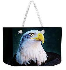 Bald Eagle Close Up Weekender Tote Bag