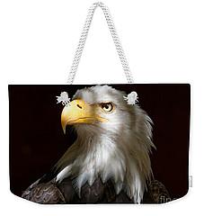 Bald Eagle Closeup Portrait Weekender Tote Bag