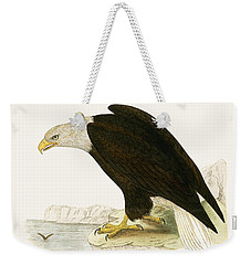 Bald Eagle Weekender Tote Bag by English School
