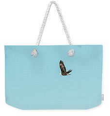 Bald Eagle Flying Weekender Tote Bag