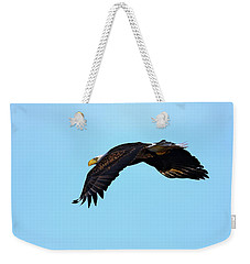 Bald Eagle Horizons Weekender Tote Bag