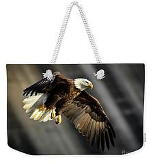 Bald Eagle Prepares To Dive Weekender Tote Bag