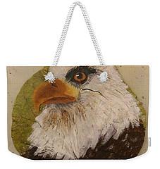 Bald Eagle Side Veiw Weekender Tote Bag