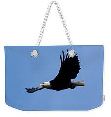 Bald Eagle Soaring High Weekender Tote Bag