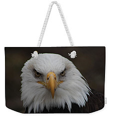 Bald Eagle Stare  Weekender Tote Bag