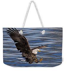 Bald Eagle Strike Weekender Tote Bag