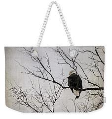 Bald Eagle Weekender Tote Bag by Tamara Becker
