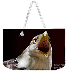 Bald Eagle - The Great Call Weekender Tote Bag