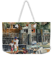 Bald Head Is. Marina Viiew Weekender Tote Bag