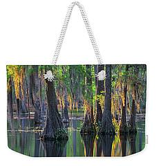 Baldcypress Trees, Louisiana Weekender Tote Bag