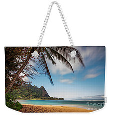 Bali Hai Tunnels Beach Haena Kauai Hawaii Weekender Tote Bag
