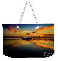 Magical Bali Sunrise Weekender Tote Bag