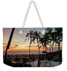 Bali Sunset Weekender Tote Bag