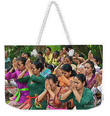Weekender Tote Bag featuring the photograph Bali_d323 by Craig Lovell