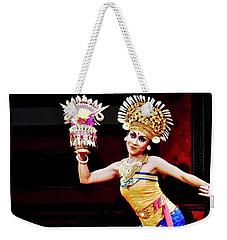 Balinese Dancer Weekender Tote Bag