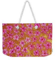 Balinese Flowers Weekender Tote Bag