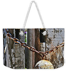 Ball And Chain Weekender Tote Bag