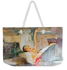 Ballerina In Motion Weekender Tote Bag