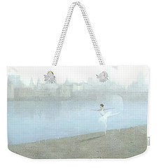 Ballerina On The Thames Weekender Tote Bag