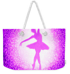 Ballerina Purple And Pink Weekender Tote Bag