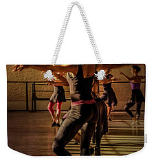 Weekender Tote Bag featuring the photograph Ballerina by Lou Novick