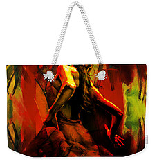 Spanish Flamenco Dancer 67p1 Weekender Tote Bag
