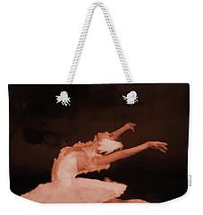 Ballet Dancer In White 01 Weekender Tote Bag