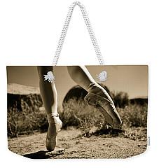 Ballet Pointe Weekender Tote Bag