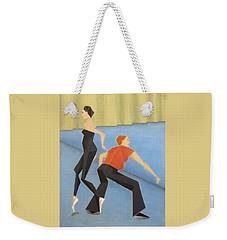 Ballet Practice Weekender Tote Bag
