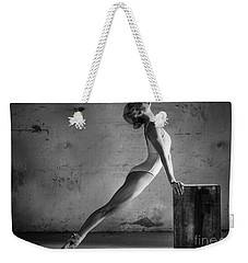 Ballet Stretch Weekender Tote Bag