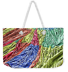 Weekender Tote Bag featuring the photograph Balloon Abstract 1 by Marie Leslie