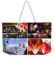 Balloon And Wine Gallery Weekender Tote Bag