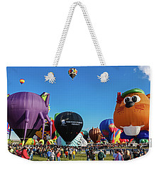 Balloon Fiesta Albuquerque I Weekender Tote Bag