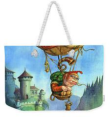 Balloon Ogre Weekender Tote Bag by Andy Catling