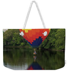 Balloon Reflections Weekender Tote Bag