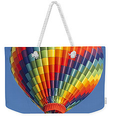 Ballooning In Color Weekender Tote Bag by Anthony Sacco