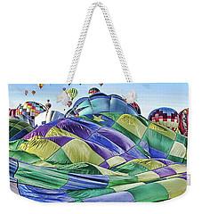 Ballooning Waves Weekender Tote Bag