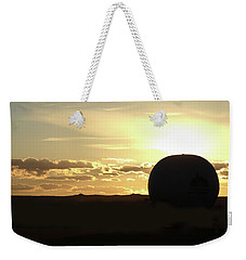 Weekender Tote Bag featuring the photograph Balloonrise by Marie Leslie