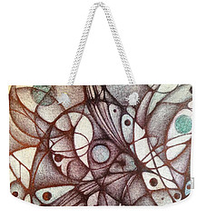 Ballpoint On Canvas  Weekender Tote Bag