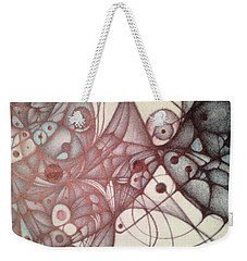 Ballpoint Two Weekender Tote Bag