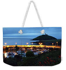 Ballycotton Ireland Marina Harbour And Lighthouse East County Cork Weekender Tote Bag